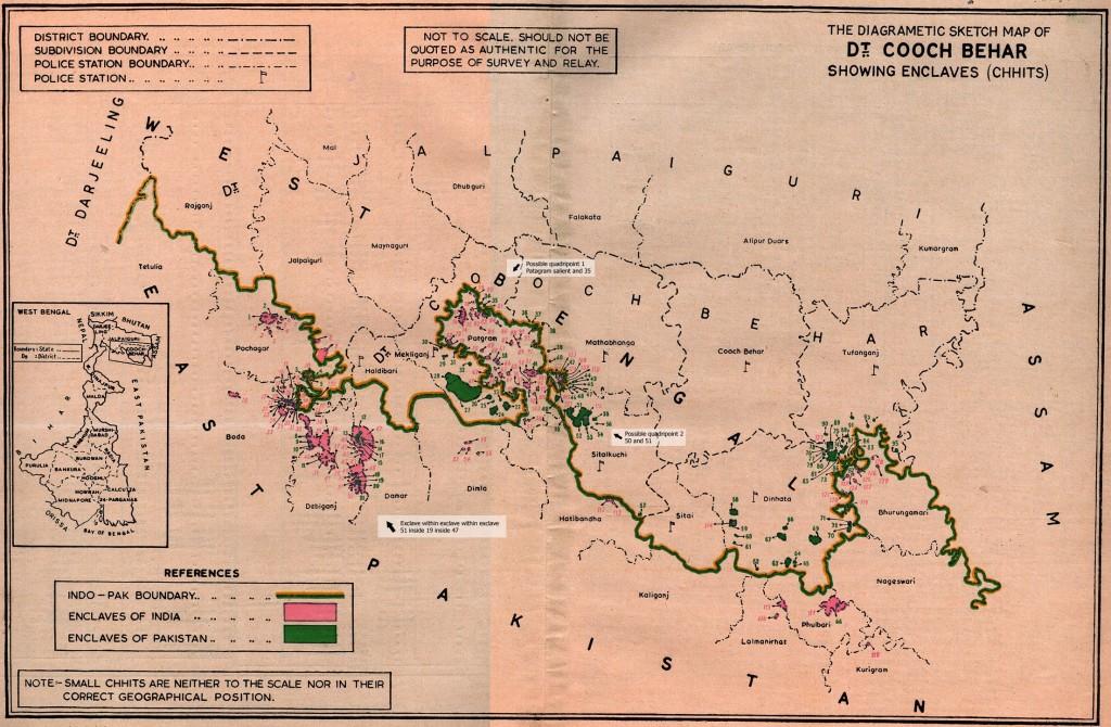 The Enclaves of Cooch Behar